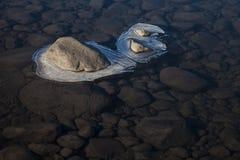 Ландшафты дня Исландии Стоковая Фотография RF