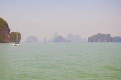 Ландшафты острова Таиланда Стоковая Фотография RF