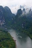 Ландшафты Guilin Стоковая Фотография