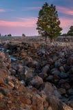 Ландшафты Mary озера Стоковые Изображения RF