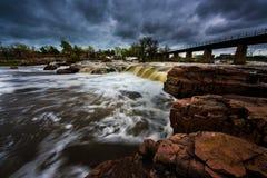 Ландшафты Sioux Falls Южной Дакоты Соединенных Штатов Стоковая Фотография