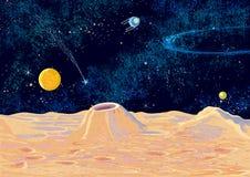 Ландшафт ¡ Ð osmic Стоковое Изображение RF