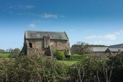 Ландшафт аббатства Cleeve, Сомерсет, Англия. Стоковая Фотография RF