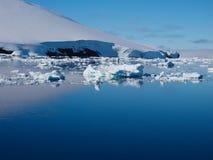 Ландшафт айсберга Антарктики Стоковые Изображения RF