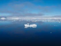 Ландшафт айсберга Антарктики Стоковые Фото