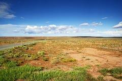 Ландшафт Аризоны сырцовый Стоковые Фото