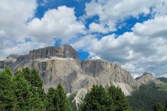 Ландшафт Альпов доломита скалистый Стоковая Фотография RF