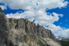 Ландшафт Альпов доломита скалистый Стоковое Изображение