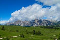 Ландшафт Альпов доломита Стоковое Фото