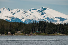 Ландшафт Аляски Стоковые Изображения RF