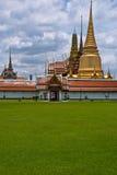 Ландшафт Бангкок Таиланд kaeo phra Wat Стоковые Фото