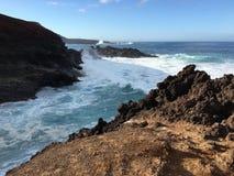 Ландшафт 5 береговой линии Стоковое Изображение