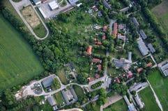 Ландшафт Бранденбург, Германия Стоковая Фотография RF
