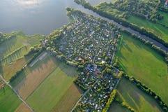 Ландшафт Бранденбург, Германия Стоковое Изображение RF