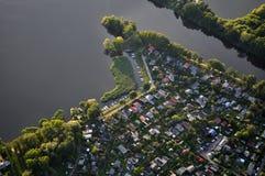 Ландшафт Бранденбург, Германия Стоковая Фотография