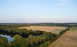 Ландшафт Бранденбург, Германия Стоковые Фотографии RF
