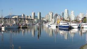 Ландшафт Ванкувера Стоковые Изображения