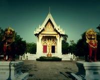 Ландшафт виска зоны буддизма Таиланда Стоковое фото RF