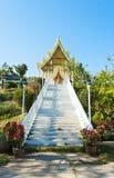 Ландшафт виска Wat Thaton, провинции Chiangmai, Таиланда Стоковое Изображение RF