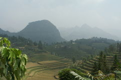 Ландшафт вокруг PA Kha Стоковое фото RF