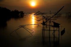 Ландшафт восхода солнца Стоковое Изображение