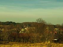 Ландшафт: время города весной Стоковая Фотография RF