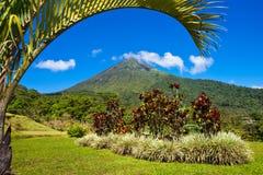 Ландшафт вулкана Arenal Стоковая Фотография RF
