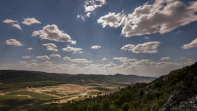 Ландшафт выгона в Испании Стоковое Изображение
