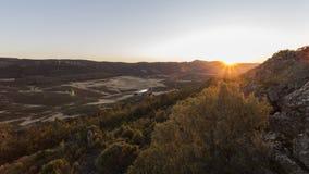 Ландшафт выгона в Испании Стоковые Фото