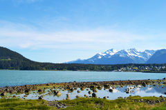 Ландшафт в Аляске Стоковое фото RF
