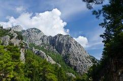 Ландшафт в горах Стоковые Фотографии RF