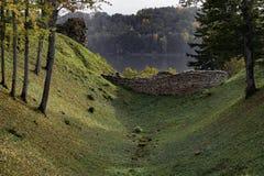 Ландшафт в Европе - изображение падения запаса Стоковые Изображения RF