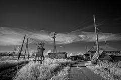 Ландшафт в инфракрасном свете Стоковые Фотографии RF