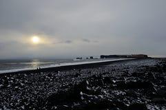 Ландшафт в Исландии Стоковая Фотография RF