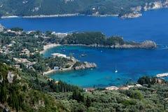 Ландшафт в Корфу, Греции Стоковые Изображения RF