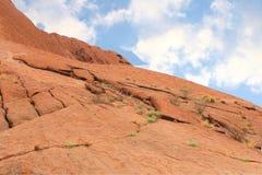 Ландшафт в красном центре Австралии Стоковые Фотографии RF