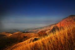 Ландшафт в ноябре Стоковое Изображение