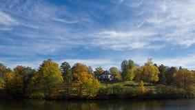 Ландшафт в осени Стоковое Фото