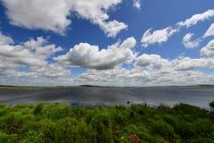Ландшафт в стране чудес Стоковое фото RF