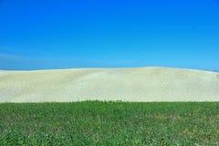 Ландшафт в Тоскане, Италии Стоковое Изображение RF