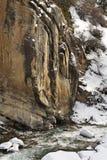 Ландшафт в ущелье Grigoriev kyrgyzstan Стоковые Изображения RF