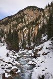 Ландшафт в ущелье Grigoriev kyrgyzstan Стоковые Фотографии RF