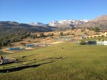 Ландшафт в чилеански стоковые изображения