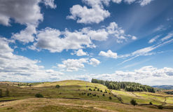 Ландшафт в Cumbria, Великобритании Стоковые Изображения