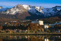 Ландшафт в Ushuaia Стоковое Изображение