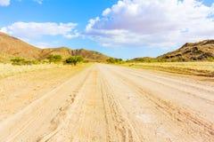 Ландшафт гористой местности Khomas в Намибии Стоковые Фото