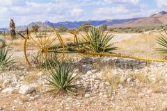Ландшафт гористой местности Khomas в Намибии Стоковое Фото