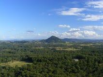 Ландшафт горного вида Стоковые Изображения RF