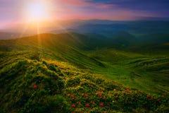Ландшафт горного пика Стоковое Изображение RF