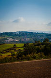 Ландшафт горного села Стоковое фото RF